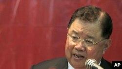 Thailand General Yutthasak Sasiprapha (file photo).