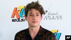 Charlie Puth arrives to KTUphoria 2018 at Jones Beach Theater, June 16, 2018, in Wantagh, New York.