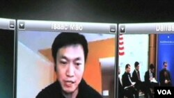 Isaac Mao je iz Kine, putem Skype-a učestvovao na konferenciji bloggera i eksperata za internet u Dallasu, Texas