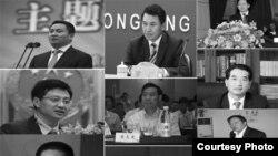 重庆因不雅视频而被撤销职务的10名高官(参与网)