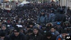 تجلیل از عید اضحی در مسکو