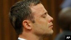 南非田径明星皮斯托瑞斯在法庭上。