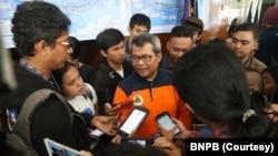Kepala Pusdatin dan Komunikasi Kebencanaan Badan Nasional Penanggulangan Bencana (BNPB) Agus Wibowo. (Foto: BNPB)