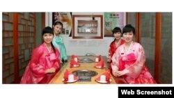 Công nhân Triều Tiên làm việc trong nhà hàng ở nước ngoài