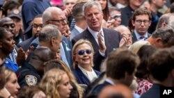 Hillary Clinton 11 Eylül olaylarının yıldönümü anma töreninde fenalaşarak tören alanından uzaklaştırılmıştı.