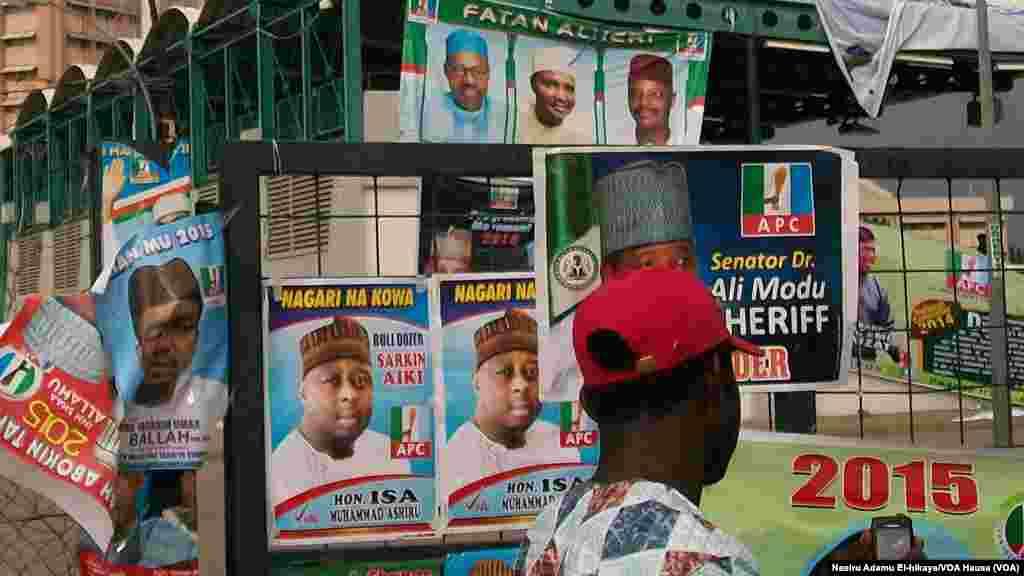 Wakilan APC sun isa Abuja domin zaben sabin shuwagabanin a ranakun Juma'a da Asabar.