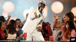 R. Kelly lors des Soul Train Awards 2015 à Las Vegas, le 6 novembre 2015. (AP)