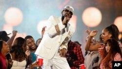 R Kelly em concerto em 2015