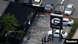 تصویر هوایی از کلوب همجنسگرایان پالس که عمر متین بارها در آن دیده شده بود.