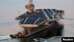 USS George H.W. Bush (CVN 77) Nimitz sınıfı uçak gemilerinin en son üretimi