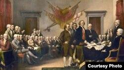 Các nhà lập quốc Mỹ.