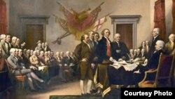 Quadro dos fundadores da América