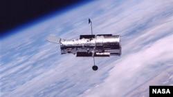 哈勃太空望遠鏡2002年環繞地球軌道運行