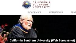 Tiến sĩ Donald Hecht, người sáng lập đồng chủ tịch California Southern University.
