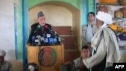 Afganistan: Presidenti Karzai viziton zonat e luftimit