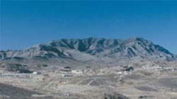 The area near Molycorp's rare earths mine in Mountain Pass, California