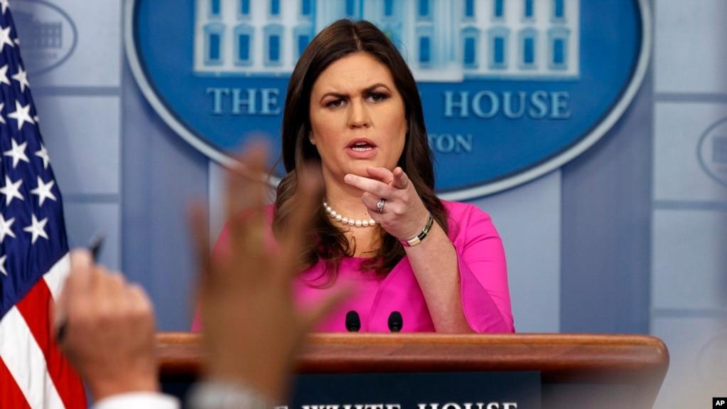 La portavoz de la Casa Blanca, Sarah Sanders Huckabee, indicó que la investigación pronto se cerraría y que no cree que aparezcan más acusados.