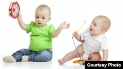A new study says babies who listen to music develop language better. (U. of Washington)