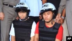 Sau cuộc điều tra kéo dài nhiều tuần, cảnh sát Thái Lan đã bắt giữ 2 thanh niên lao động di trú người Miến Điện mà cho là thủ phạm vụ giết người.