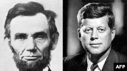 Bloq: Abraham Lincoln və John F. Kennedy