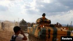 Türk silahlı qüvvələri Hatayda