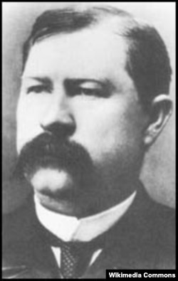 A photograph of Virgil Earp
