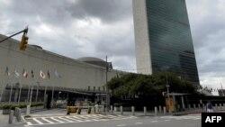 资料照片:纽约联合国总部大楼。(2021年7月19日)