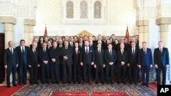 Le gouvernement marocain, 5 avril 2017.