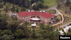Pusat retret dan tempat tinggal ulama Turki, Fethullah Gulen, di Saylorsburg, Pennsylvania, AS.
