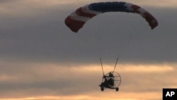 The Palm Bay Police Department is experimenting with powered parachute aircraft to assist in crime fighting