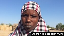 Une femme repentie de Boko Haram, à Yakoua au Tchad le 26 octobre 2017 (VOA/ André Kodmadjingar)