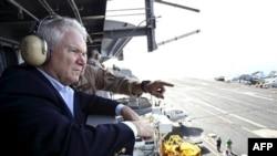 Міністр оборони США Роберт Ґейтс в Афганістані