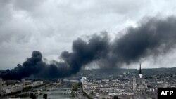 ہوائی آلودگی، فائل فوٹو