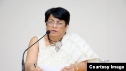 Dr. Bandana PurkayasthaDr. BanDr. Bandana Purkayastha speaking at Council for Social Development (CSD) in Hyderabad