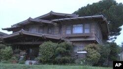 西亚当区有些房屋设计风格受到日本影响