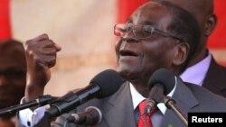 UMongameli Robert Mugabe.