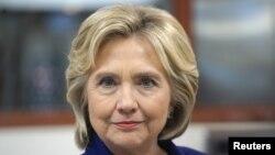 La candidate démocrate Hillary Clinton.