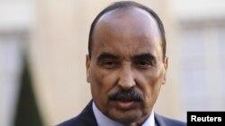 Le président de la Mauritanie, Mohamed Ould A bdel Aziz, à Paris, en France, le 20 novembre 2012.