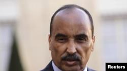 Shugaban kasar Mauritania Mohamed Ould Abdel Aziz