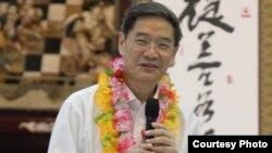 張志軍訪問高雄佛光山(6月27日)(陸委會提供)