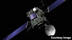 Phi thuyền Rosetta của Cơ quan Không gian Châu Âu. Phi thuyền Rosetta đã bay hơn 6 tỉ kilomét kể từ khi được phóng đi hồi tháng 3 năm 2004.