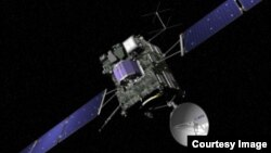 Pesawat antariksa pengejar komet milik Badan Antariksa Eropa, Rosetta. (Foto: Dok)