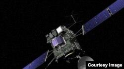 Phi thuyền săn sao chổi Rosetta.