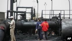 位於蘇丹的油田(資料圖片)
