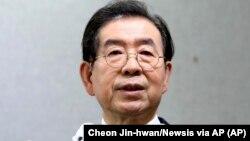 Park Won-soon, presidente camarário de Seul