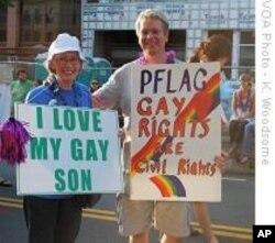 Manifestation pour les droits des homosexuels