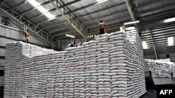 Theo thỏa thuận, 13 nước thành viên trong ASEAN+3 sẽ dự trữ kho lúa 787.000 tấn đề phòng trường hợp xảy ra thiên tai