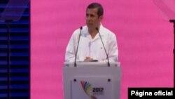 El presidente de Perú, Ollanta Humala, dijo que un gran problema en América Latina es la inequidad.