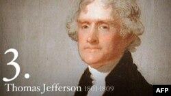 独立宣言起草人, 美国第三任总统托马斯.杰弗逊