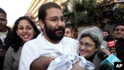 Aktivis terkemuka Mesir Alaa Abdel-Fattah